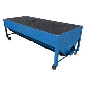 Progettazione e produzione di banchi aspiranti per fumi, odori, levigatura legno, resine. gge aspirazione aria industriale