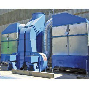 filtri di aspirazione modulari per verniciatura - gge impianti aspirazione aria industriale
