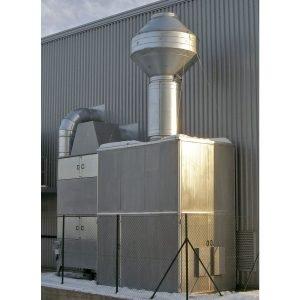 Impianti aspirazione com filtri aria assoluto HEPA, ideali per impianti centralizzati per filtrazione fumi e nebbie industriali - gge impianti di aspirazione e filtrazione aria industriale