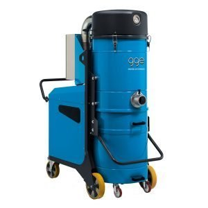 Aspiratori industriali carrellati, mobili o trasportabili su ruote ad alta potenza. GGE impianti di aspirazione industriale