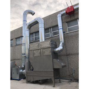 Idrofiltro oFiltri ad acqua per polveri con effetto Venturi - GGE impianti industriali di aspirazione centralizzati per polveri