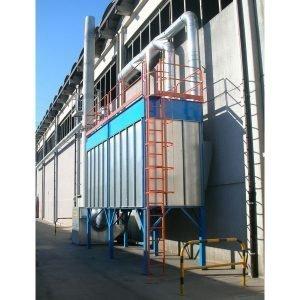 filtri a carbone attivo per deodorizzazione odori. GGE realizza impianti centralizzatie e filtri per aspirazione industriale