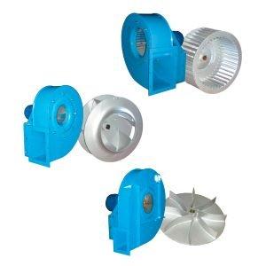 Ventilatori centrifughi per impianti centralizzati. GGE