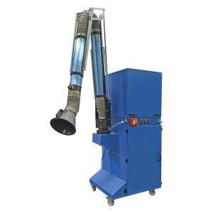 Filtri a cartuccia mobili, trasportabili e carrellati per polveri. gge impinati di filtrazione e aspirazione industriale