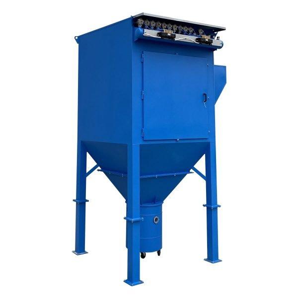 Impianto aspirazione con filtri a cartuccia autopulenti, GGE aspirazione industriale