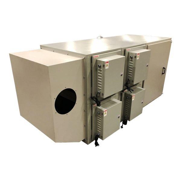 Filtri elettrostatici o elettrofiltri gge per aspirazione industriale di nebbie oleose e fumi di saldatura