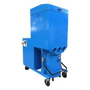 Aspiratori trasportabili su ruote, ad alte prestazioni per polveri. GGE impianti e soluzioni per aspirazione e filtrazione industriale