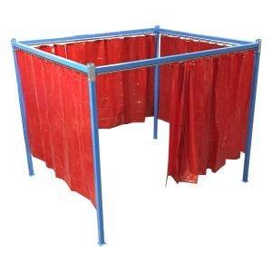 tende e box per limitare aree di saldatura in applicazioni di saldatura e smerigliatura. GGE aspirazione industriale