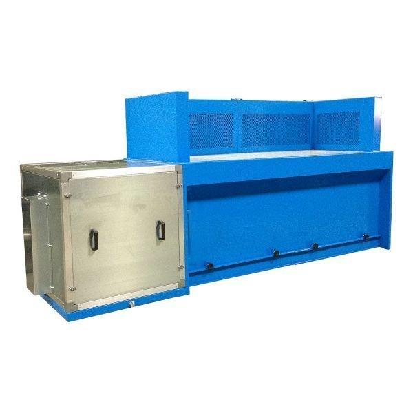progettazione e produzione banchi aspiranti per fumi e polveri. gge aspirazioni aria industriale