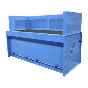 progettazione e produzione banchi aspiranti per fumi e polveri con cartuccia. gge aspirazione aria industriale