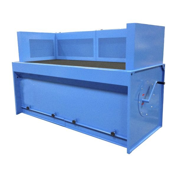 progettazione e produzione banchi aspiranti per fumi e polveri con filtri a cartuccia. GGE aspirazione aria industriale