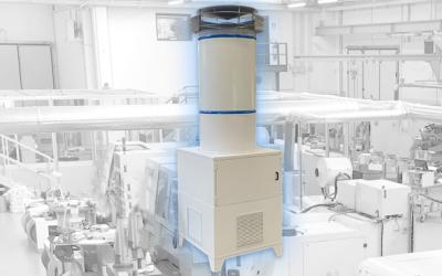 Air-Puro purificatore d'aria industriale per grandi ambienti