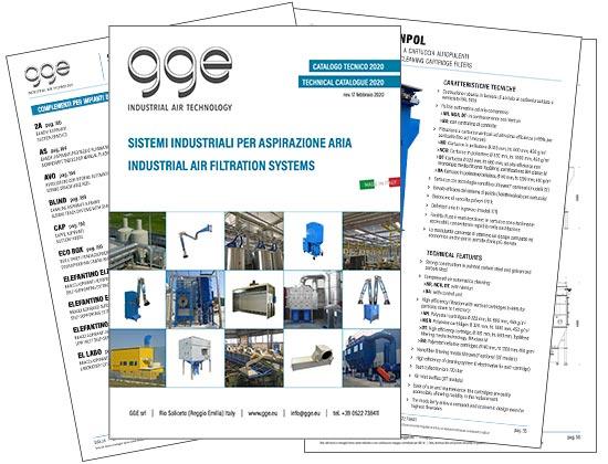 gge srl  catalogo impianti di aspirazione industriali