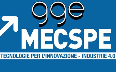 GGE a MECSPE 2020 – Fiere di Parma