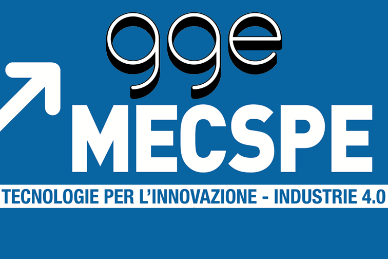 GGE will exhibit at MECSPE 2020 in Parma (ITALY)